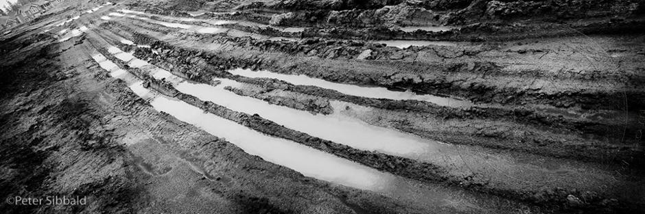 Markham, Ontario. Mud Tracks